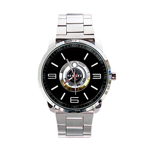 Paper Priinted Wrist Watches XWDS495 New Limited Edition Ford Mustang Bullitt GT Emblem Logo Sport Metal Watch (Bullitt Emblem compare prices)