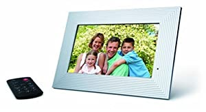 jWIN JP119 9-Inch Digital Picture Frame with Three Face Plates (White)