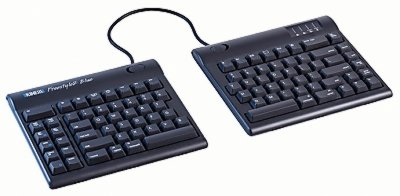 "Kinesis KB800MB-BT-20 Freestyle2 Blue for Mac Multichannel Bluetooth with 20"" seperation"