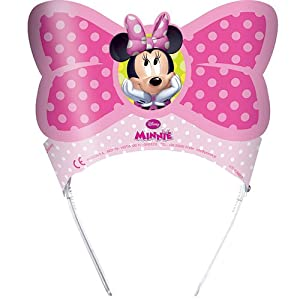 Amscan Minnie Bow-Tique Tiaras Party Accessory