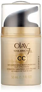 Olay CC Cream - Total Effects Daily Moisturizer plus Touch of Foundation 1.7 Fl Oz, Packaging May Vary