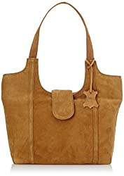Alessia74 Women's Handbag Tan (PBG406A)