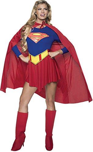 Rubie's P15553M - Costume per travestimento da Supergirl, Donna, M
