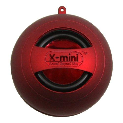 X-Mini II Capsule Speaker-Red