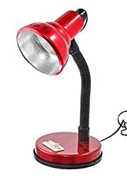 ESN 999 Stylish Maroon 001 Table Lamp For Home/Office/Study