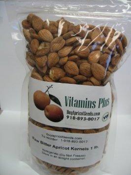 Apricot Kernels (Seeds) 1LB Bag