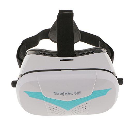 """Newjobs 3D Movise VR Video Glasses Virtual Reality Box for 4""""~6"""" Smartphone"""