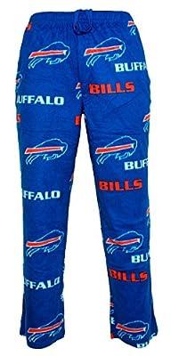"Buffalo Bills NFL ""Facade"" Men's Micro Fleece Pajama Pants"