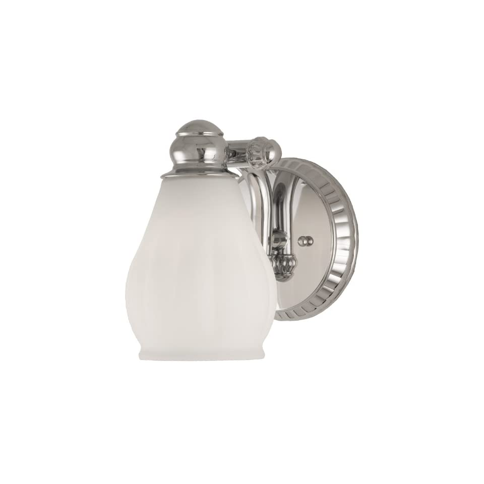 Checkolite 9641 15 Price Pfister Treviso Collection 1 Light Vanity, Chrome