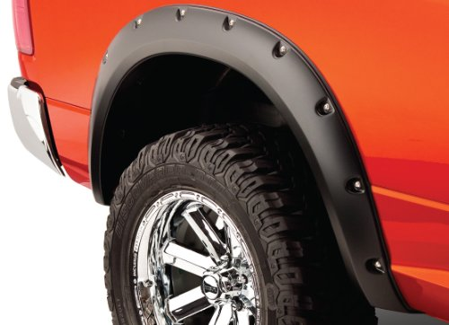 Bushwacker Ford Pocket Style Fender Flare Rear Pair