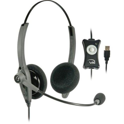 Office Headsets-Vxi Vxi Talkpro Usb2 Headset