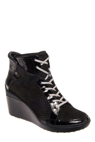 Tsubo Dess High Wedge Sneaker