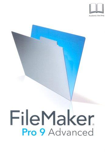 Filermaker Pro 9.0 Advance, Education Edition