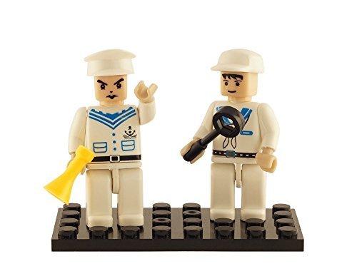 Brictek 2 Piece Navy Figure Set - 1