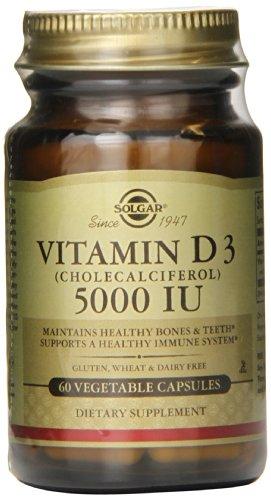 Vitamin D3 5000 IU - 60 - Veg Cap