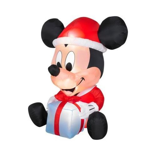 6Ft Egg Noggin Disney Mickey Mouse Inflatable Holiday Yard Decoration front-926014