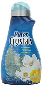 Purex Crystals Laundry Enhancer, Fresh Spring Waters, 55 Ounce