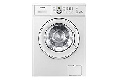 Samsung WF1600NCW/TL Fully-automatic Front-loading Washing Machine (6 Kg, White)