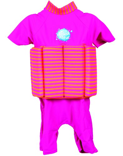 Splash About Sun Protection 50+ Floatsuit With Adjustable Buoyancy: Hot Mango 2-4 Years front-517083