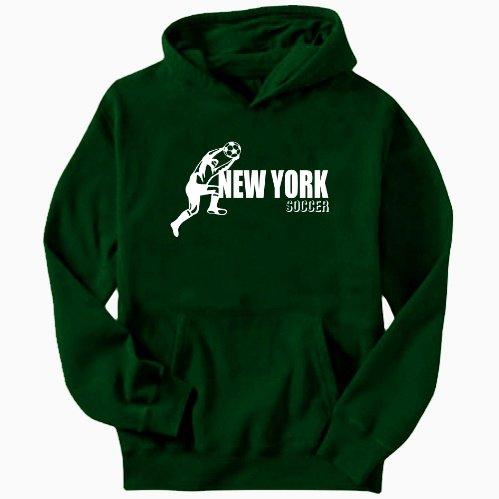 New York All Soccer Mens Hoodie