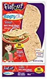 Flatout Hungry Girl Foldit Flatbread, 100% Whole Wheat with Flax, 6 wraps
