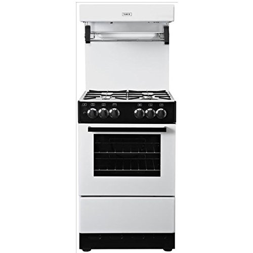 GDHA Valor V50HLGWHT Cooker, Single Oven Gas