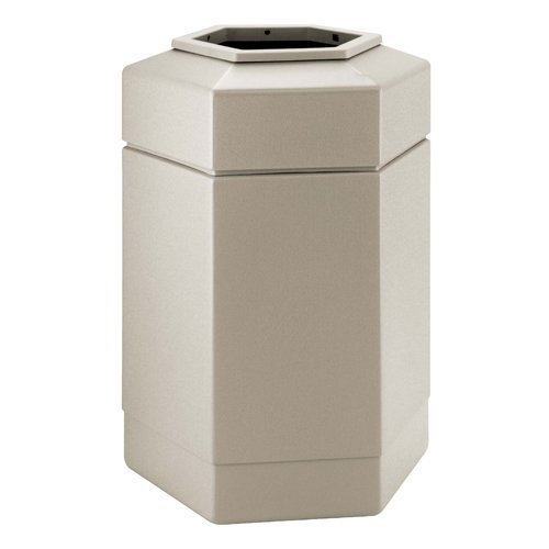 30-gallon-hex-waste-container-color-beige-by-commercial-zone