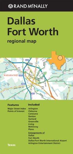 Folded Map Dallas/Fort Worth Reg TX