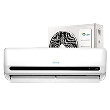 Senville SENL-09CD 9000 BTU 15 SEER Split Air Conditioner and Heat Pump, Mini