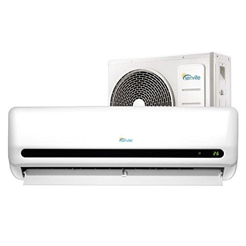 Senville SENL-12CD 12000 BTU 15 SEER Split Air Conditioner and Heat Pump, Mini (Heat Ac Unit compare prices)