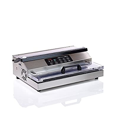 "VacMaster PRO380 Suction Vacuum Sealer with Extended 16"" Seal Bar by VacMaster"