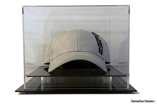 Desk or Counter Top Hat or Cap Display Case by GameDay Display (Clear Hat Display compare prices)
