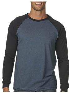 Buy Canvas Long Sleeve Raglan Baseball Tee Shirt by Canvas