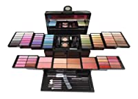 SHANY Cosmetics Mega Beauty Set - Double Layer of Eyeshadows, Powders , Brushes and More - BB1100 by SHANY Cosmetics