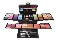 SHANY Cosmetics Mega Beauty Set - Double Layer of Eyeshadows, Powders , Brushes and More - BB1100 by SHANY Cosmetics
