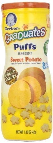 Gerber Graduates Puffs - Sweet Potato - 1.48 oz - 1