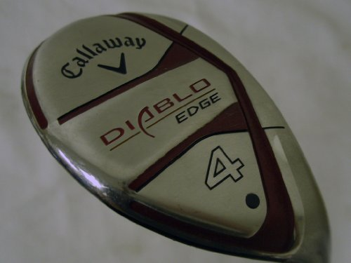 Callaway Diablo Edge 4 Hybrid 24 (Graphite, STIFF) 4h Rescue Golf Club (Diablo Edge Hybrid compare prices)