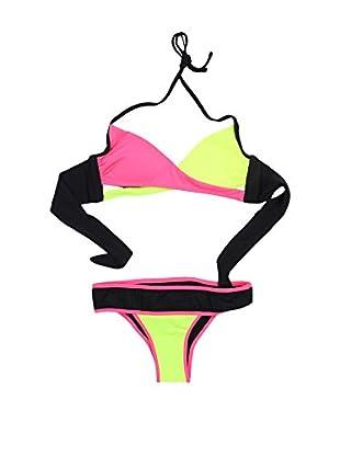 4giveness Bikini (Fucsia / Verde Flúor)