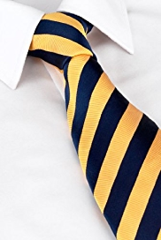 Sartorial Pure Silk Striped Tie