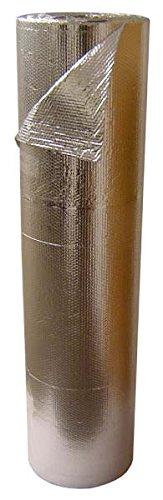 EcoFoil 4' X 125' Single Bubble Foil Reflective Insulation & Radiant Barrier (500 sq. ft.) (Bubble Wrap 100 Square Feet compare prices)