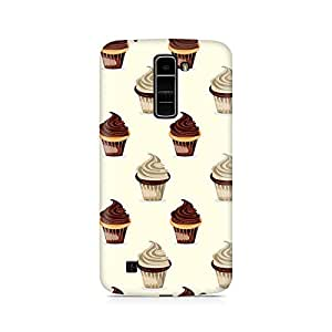 TAZindia Printed Hard Back Case Cover For LG K10