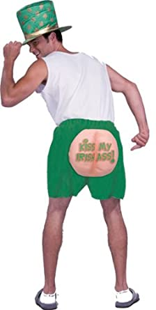 Amazon.com: Kiss My Ass Irish Shorts: Clothing