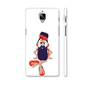 Colorpur Musical Sadhu Baba Artwork On OnePlus 3 Cover (Designer Mobile Back Case) | Artist: Abhijeet Sinha