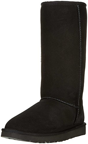 ugg-womens-classic-tall-shearling-boots-black-nero-5-uk