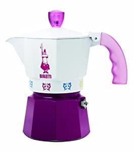 "Bialetti: Moka Express ""Artisti"" Limited Edition 3-Cup Violet [ Italian Import ] from Bialetti"