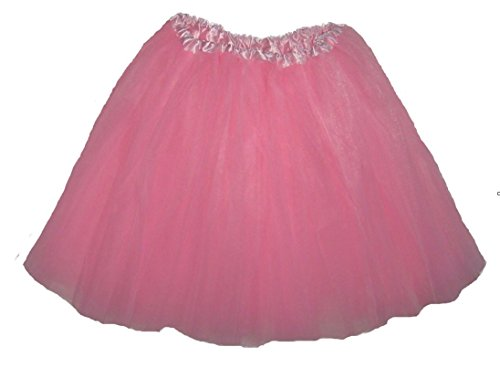 Southern Wrag Company Big Girls Long Tutu Light Pink Waist 18-36 Length 16-17