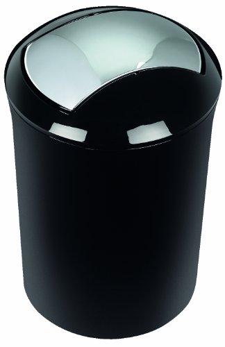 Spirella sydney 1014388 pattumiera colore nero for Spirella accessori bagno