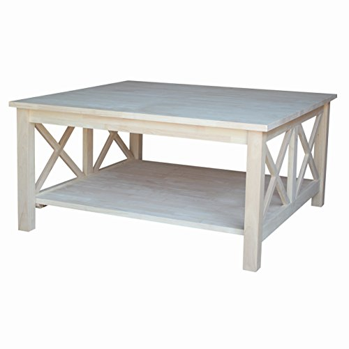 international concepts ot 70sc hampton square coffee table