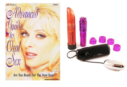 Educational DVD´s- Nina´s Advanced Guide To Oral Sex -Dvd Multi-Product Value Bundle - Sex Toy Kit