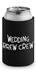 Epic Products Wedding Brew Crew Neoprene Can Epicool, 4-Inch